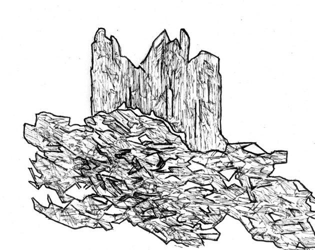 Sans titre, 2018, 11,7 x 9,3 cm