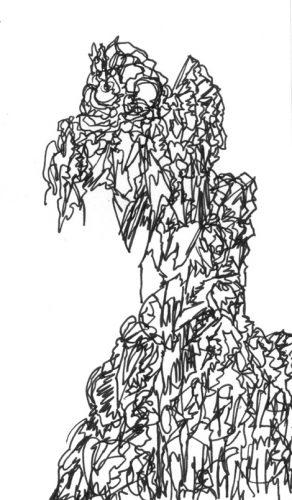 Sans titre, 2017, 6,0 x 10,2 cm