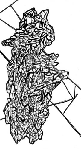 Sans titre, 2017, 5,6 x 10,3 cm