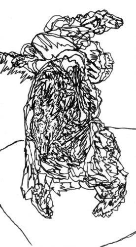 Sans titre, 2017, 5,7 x 10,4 cm