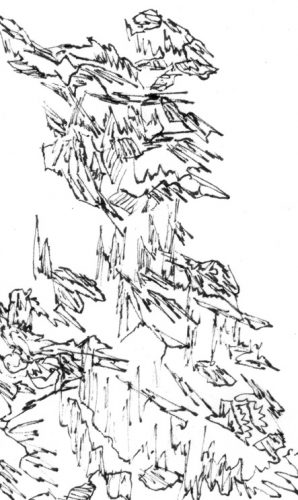 Sans titre, 2018, 5,64 x 9,45 cm