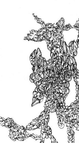 Sans titre, 2017, 5,80 x 10,40 cm